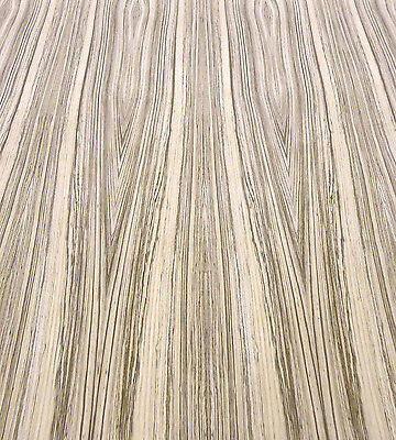 """Zebrawood African genuine wood veneer 24"""" x 24"""" with paper backer 1/40th"""" thick"""