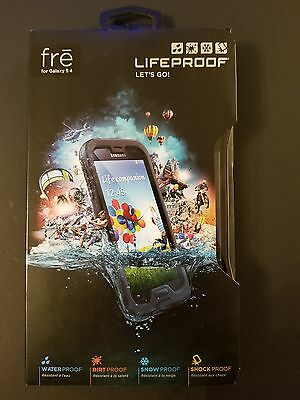 Lifeproof Case S4 Samsung Galaxy Fre Genuine Shock Water Proof Black 1802-01