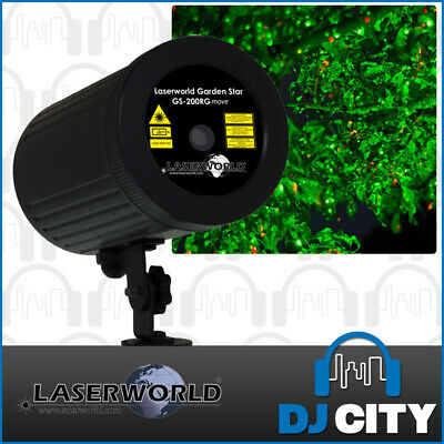 Laserworld Garden Star GS-200RG Red / Green Outdoor Laser IP65 Water Resistant