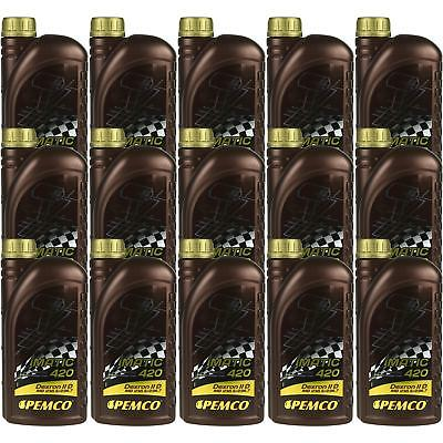 15x1 Litre Original PEMCO Automatic transmission fluid iMATIC 420 ATF IID Gear