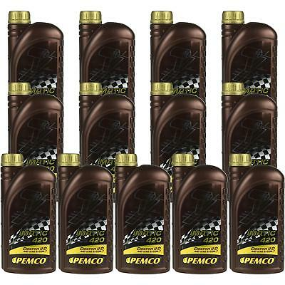 13x1 Litre Original PEMCO Automatic transmission fluid iMATIC 420 ATF IID Gear
