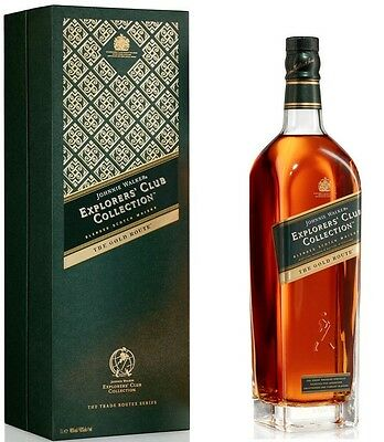 Johnnie Walker Explorer's Collection the Gold Route 1 LT Boxed