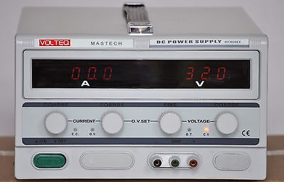 Volteq Variable DC Power Supply HY3020EX 30V 20A Over-Voltage Protection