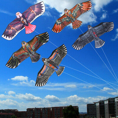 NEW Huge 1.1m Eagle Kite single line Novelty animal Kites Children's Outdoor toy