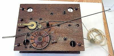 ANTIQUE WOODEN WORKS MOVEMENT  ElLI TERRY STYLE