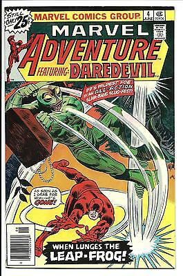 Marvel Adventure: Daredevil # 4 (June 1976), Vfn-