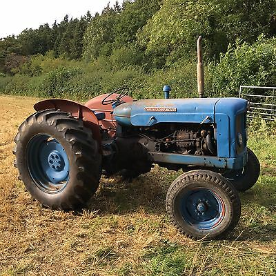Fordson Super Major Tractor, Raised PTO