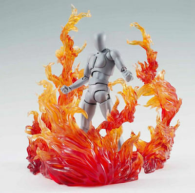 Star Soul Effect Burning Flame Red For Bandai Tamashii Saint Seiya Gundam