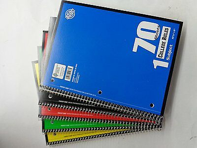 Norcom college ruled note book 70 sheets
