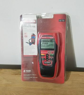New Craftsman 987702 OBD2 + ABS Diagnostic Tool Brand New Sealed CanOBD auto