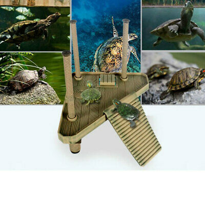Fish Tank Reptile Vivarium Terrarium Landscape Ornament Hide Cave House Decor
