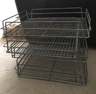 Metal / Wire Drinks Tray x 5