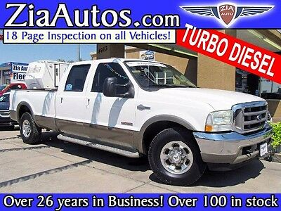 2004 Ford F-250 King Ranch Crew Cab Long Bed 2WD 2004 Ford F-250 SD for sale!