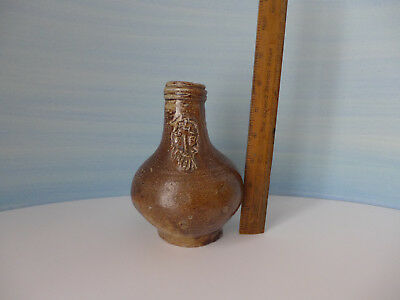 Early 17th Century Small 6 Inch Bellarmine Jug In Very Good Unrestored Condition
