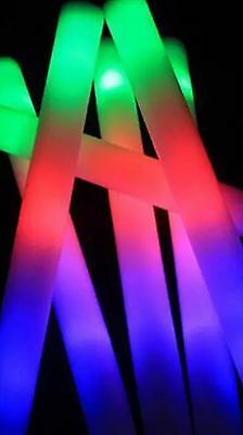 30 * 48 Cm Brand-New Glow In Dark Foam Wands For Rave Party.