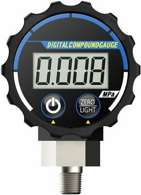 Elitech PG-20 Digital Vacuum Pressure Gauge for Air and Compatible Gases