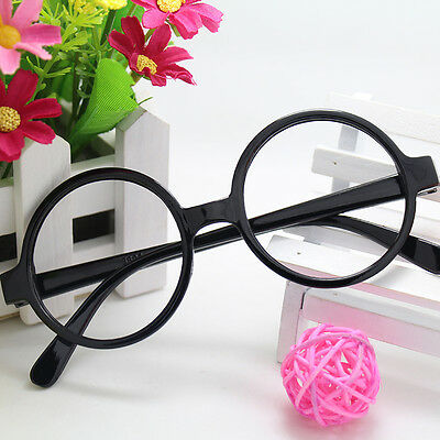 Children Kids Photographing Cute Round Glasses Spectacle Frame No Lenses