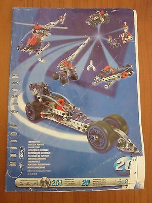 Meccano Instructions 6520 Motion System 20 models