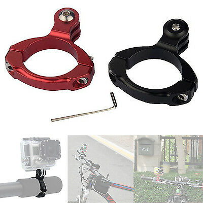 GO PRO Vélo Aluminium Guidon Bar Clamp Mount pour HERO 1/2/3/3+ CAMERA L5