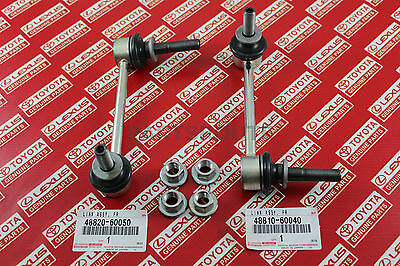 Toyota 4Runner FJ Cruiser Prado Lexus GX470 OEM Genuine Front Stabilizer Links