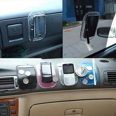 Car Dashboard Non Slip Anti Slip Mobile Phone Smartphone Sticky Holder Pad Mat
