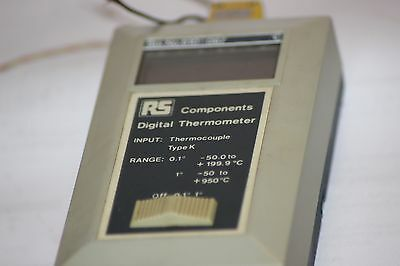 Digital Thermometer Rs 610-067 Type K