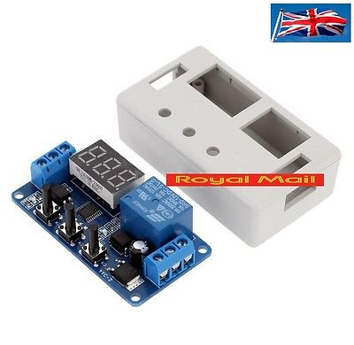 12V LED Automation Delay Timer Control Switch Relay Module with case  #H160