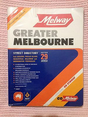 Melway 2002 Gc With Plastic Cover