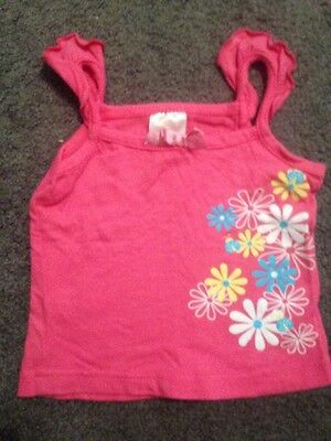 Baby Girls Short Sleeved Top Size 0 EUC