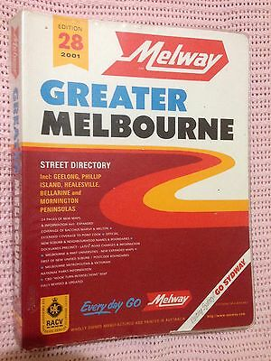 Melway 2001 Gc With Plastic Cover