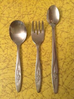 Baby Spoons And Fork