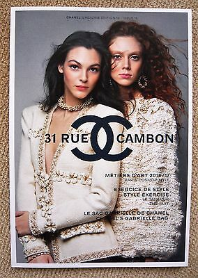 Neuf ! Chanel 31 Rue Cambon Magazine N°16 Automne-Hiver 2017
