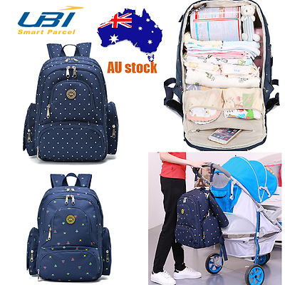 Multifunctional Baby Diaper Nappy Mummy Maternity Travel Backpack Large Baby Bag