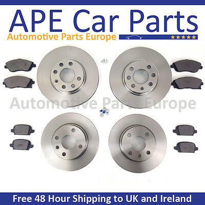 VAUXHALL CORSA C 1.8 SRi FRONT DIMPLED AND GROOVED BRAKE DISCS /& MINTEX PADS