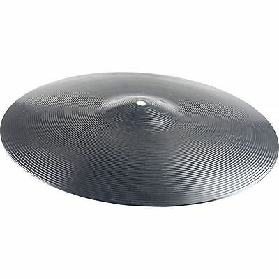 """Stagg 14"""" Inch Plastic Cymbal Black New"""