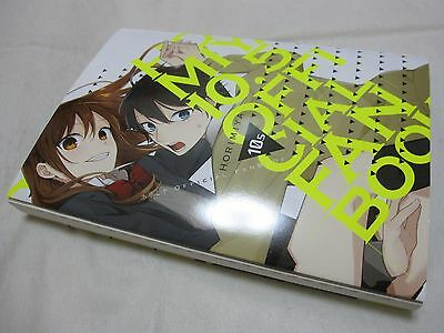 3-7 DAYS TO USA DHL Delivery  Horimiya OFFICIAL FANBOOK Vol 10 5 Japanese  Manga