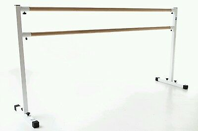 Ballet barre 2meter, bar ,portable freestanding, double barre.