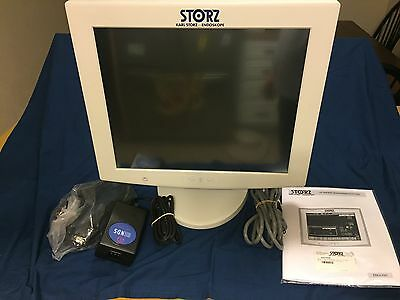 """Karl Storz Wuis994-Dr 19"""" Lcd Lifevue Touchscreen Monitor Display Panel Nds 993"""