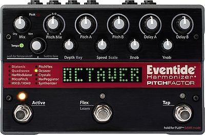 Eventide PitchFactor Harmonizer Effects Pedal, NEW & BOXED, 12 Months Warranty