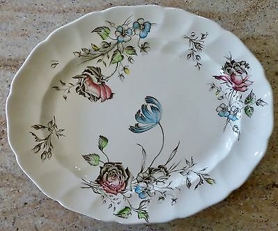 Johnson Bros. - Day In June - Oval Serving Platter - 13 5/8 Inches