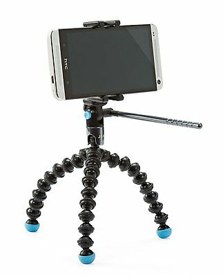 Joby Griptight Gorillapod Video Tripod for Cameras with Free Smartphone Clamp