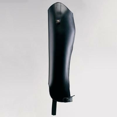 **NEW** Rectiligne Adults Bayonne PU Leather Gaiters - Black **WAS £51.50**