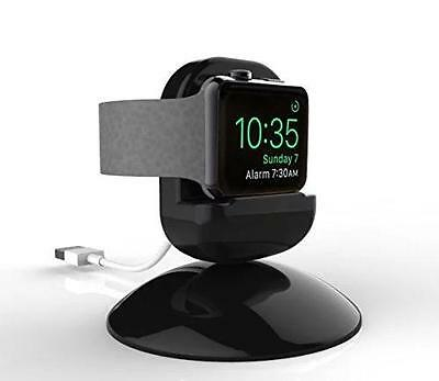 APPLE WATCH Charging Dock 360 Degrees Rotation Black New FREE SHIPPING!