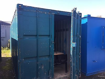 24ft x 8ft Anti vandal Storage Container