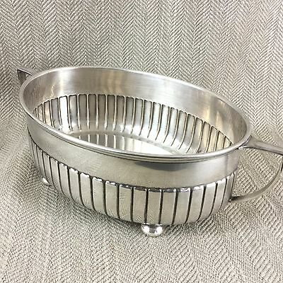 Antique Serving Bowl Twin Handled Open Tureen Silver Plated Mappin & Webb 1888