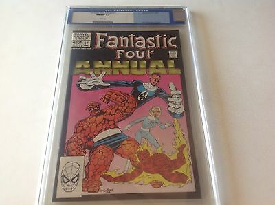 Fantastic Four Annual 17 Cgc 9.8 White Pgs Old Blue Label Beautiful Not Cbcs Pgx