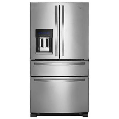 Whirlpool WRX735SDBM French Door Refrigerator with External Refrigerated Drawer