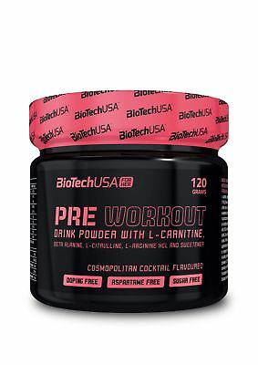 BiotechUSA Pre Workout for her mojito 120g