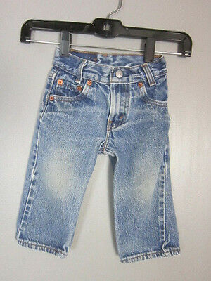 Vintage 80S Levis 501 Faded Worn Jeans Baby Toddler Size 1