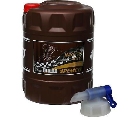 20 Litre Pemco Automatic Transmission Fluid iMatic 420 ATF IID Gear Oil Oil +